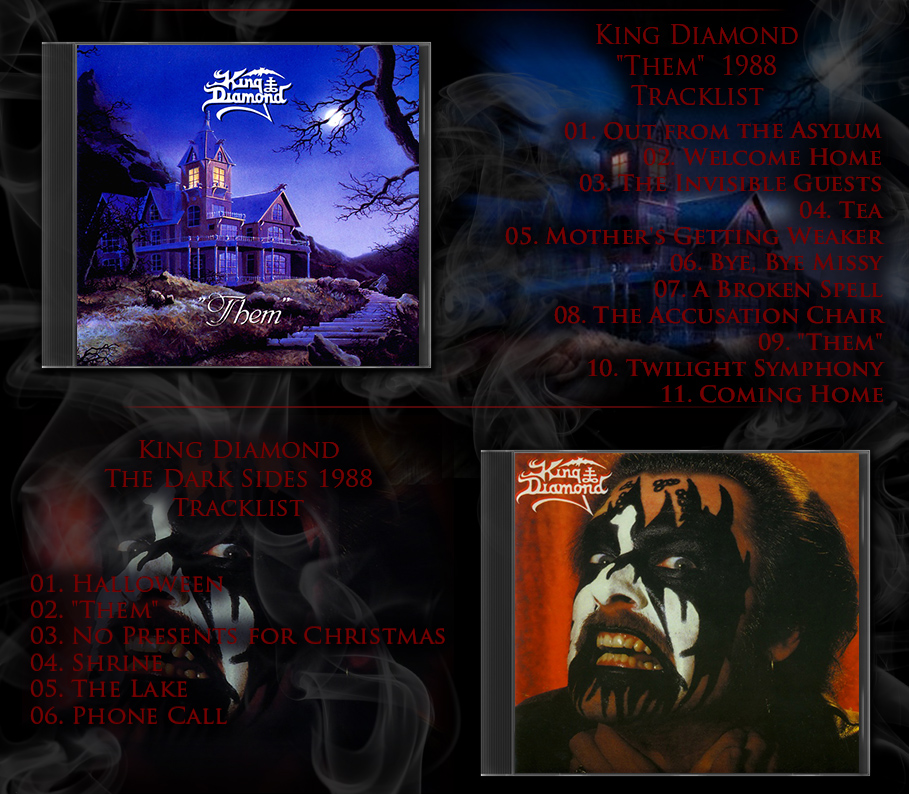 King Diamond   1986 - 2007   Heavy Metal