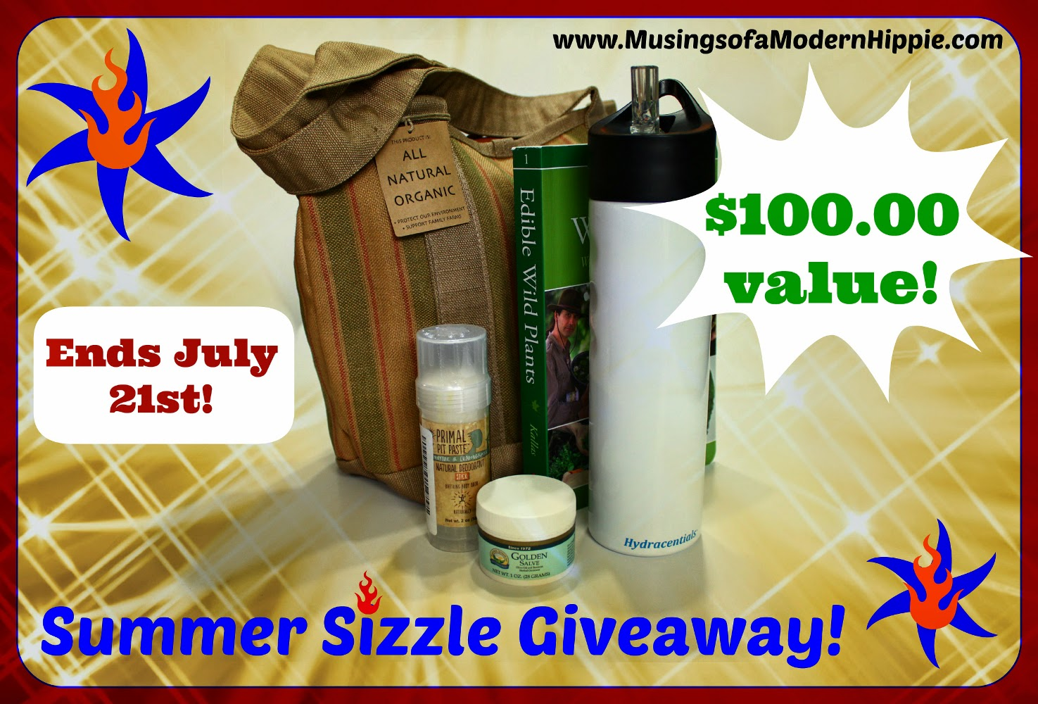 Summer Sizzle Giveaway | Musings of a Modern Hippie