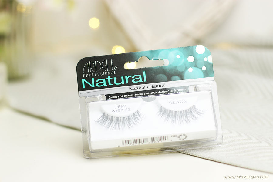ardell, demi, wispies, eyelashes, review, blog, my pale skin, em ford,