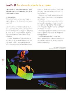 Lección 22 Por el mundo a bordo de un teatro - Educación Artística 6to Bloque 5 2014-2015