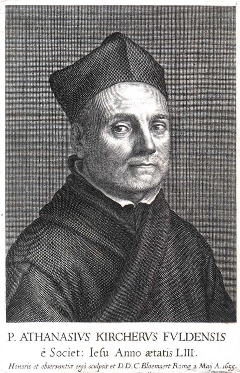 Athanasius Kircher (c.1600-1680)