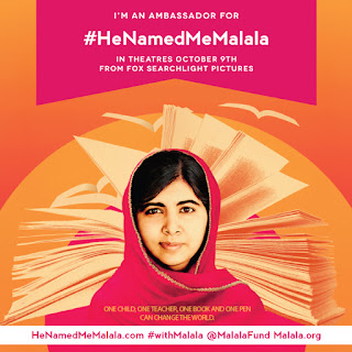 A post inspired by the new documentary, He Named Me Malala.