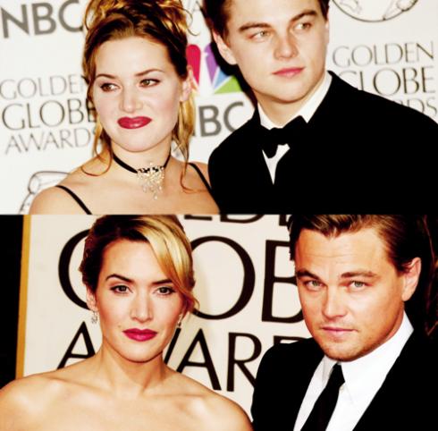 Entertainment Spotlight!: Then and Now: Leonardo DiCaprio ... Leonardo Dicaprio And Kate Winslet