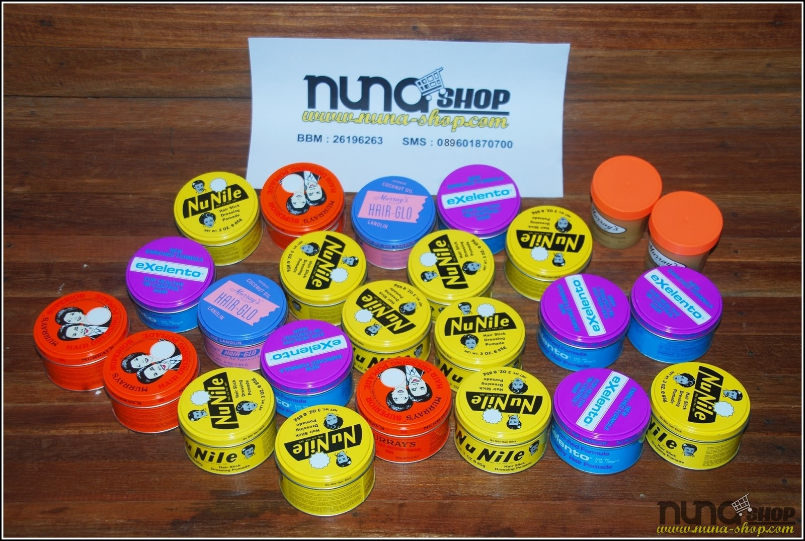 Jual Murah Murrays Pomade Original- Superior, Superlight, Nu Nile, Exelento, Hairglo Original From USA