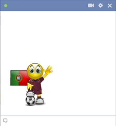 Portuguese football smiley