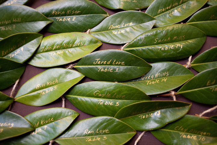 Decorating For The Season With Magnolia Leaves Driven By Decor