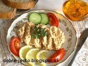 Syrová nátierka s tuniakom - recept