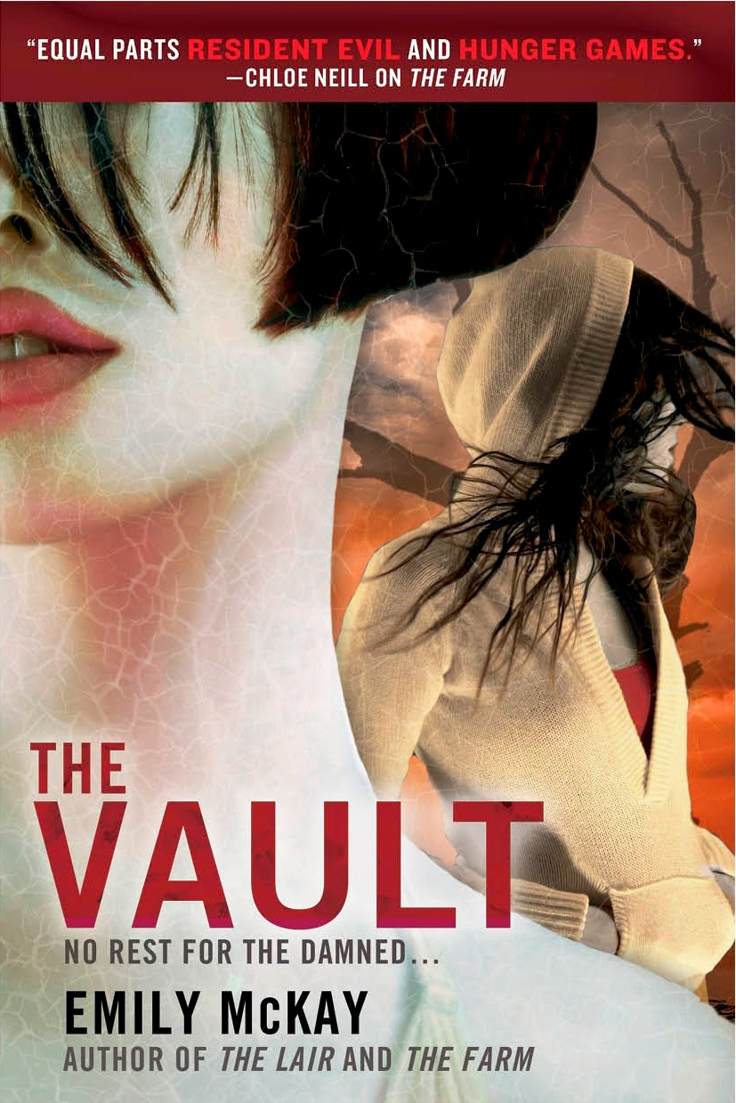 Cover Reveal: The Vault by Emily McKay