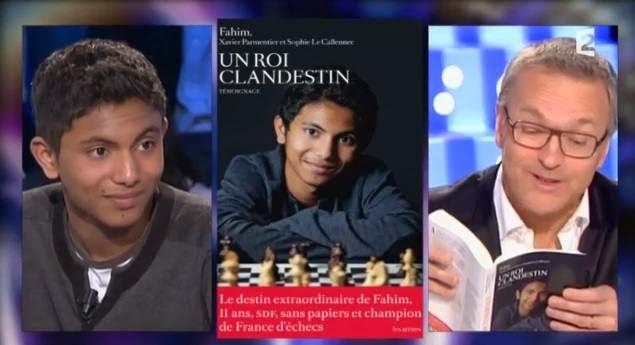 Fahim Mohammad était l'invité de Laurent Ruquier samedi 15 février 2014 de l'émission on n\'est pas couché © France 2