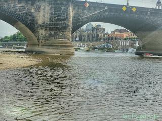 Stadtlauf Dresden Brücke