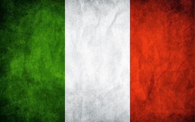 Italia y su bandera