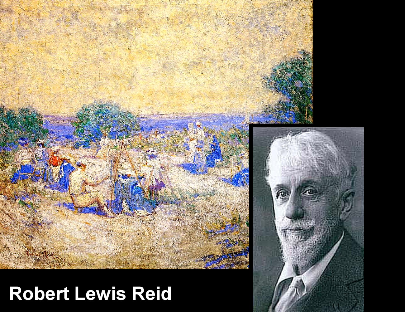 Art Now and Then Robert Lewis Reid
