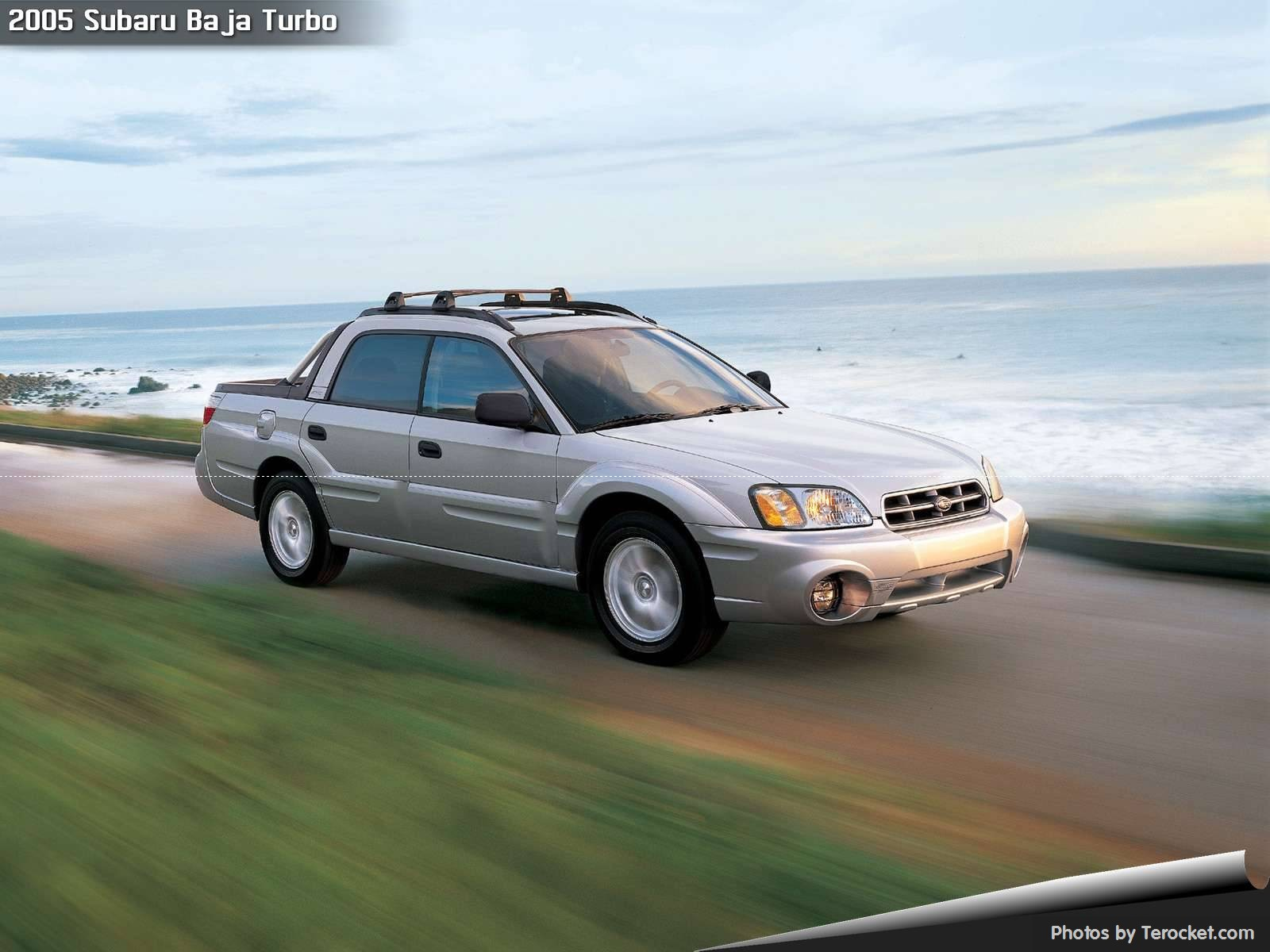 Hình ảnh xe ô tô Subaru Baja Turbo 2005 & nội ngoại thất