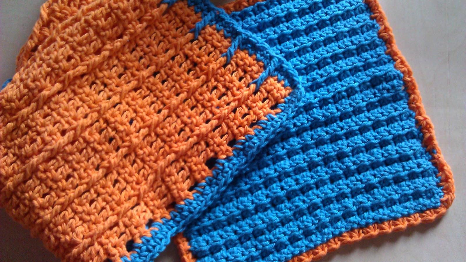 Crochet Baby Washcloth Pattern : Rita Hutcheson-Cobbs: Crochet 3-in-1 Stitch Washcloth and ...