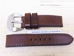 KAIN HERITAGE BROWN TOBACCO LEATHER STRAP