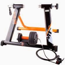 My trainer, a JetBlack M1 turbo trainer.