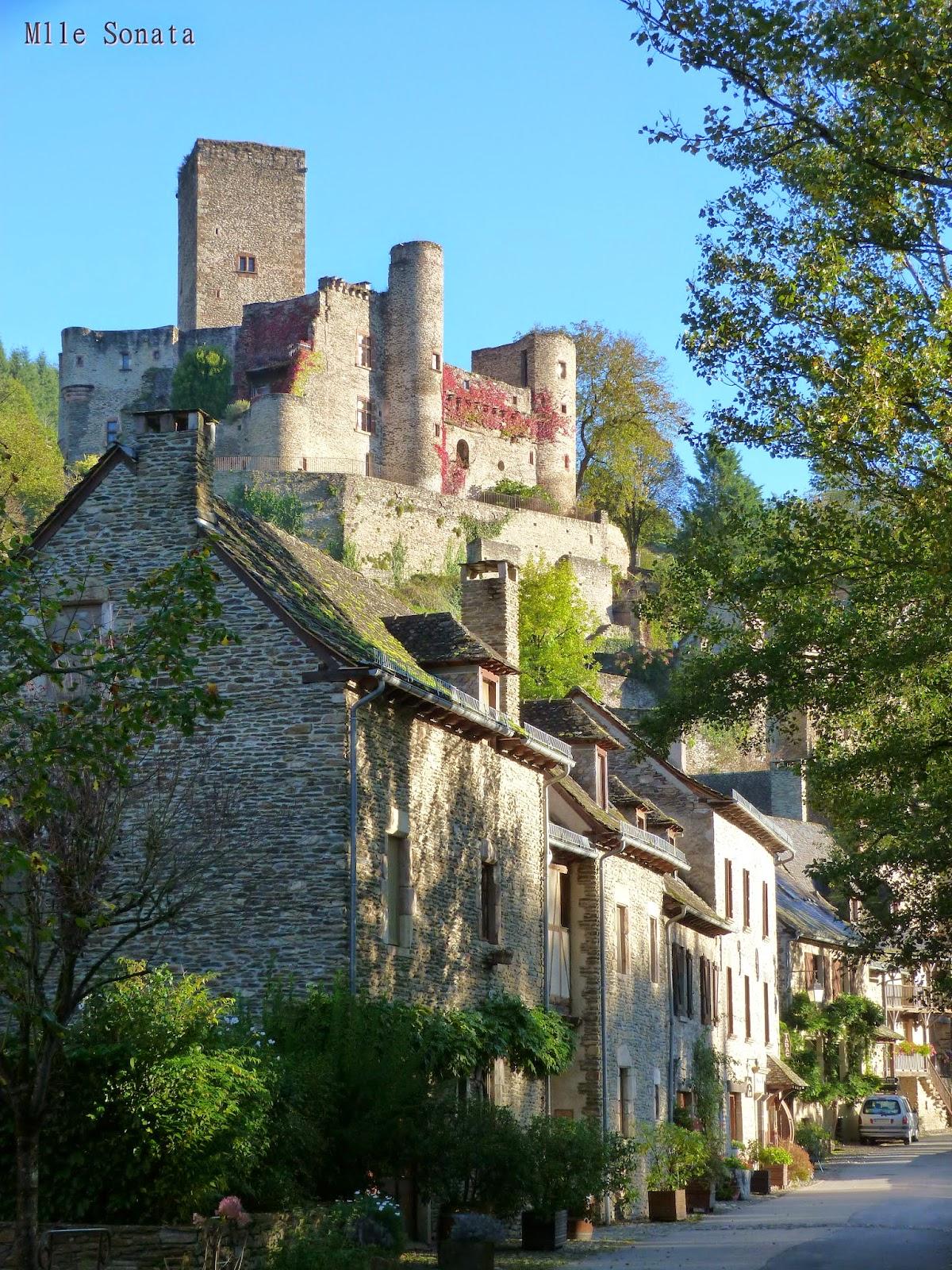 Aveyron Belcastel Chateau