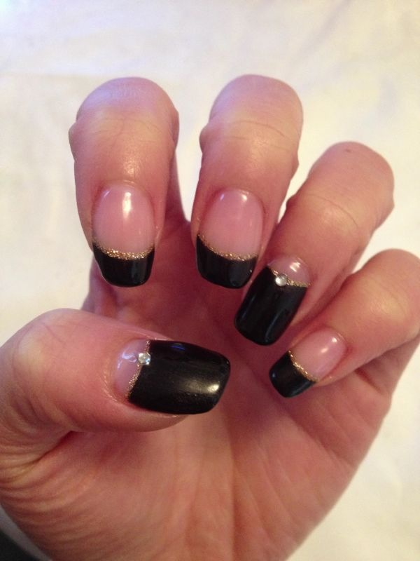 Brush up and polish up cnd shellac nail art a french alternative cnd shellac nail art a french alternative prinsesfo Image collections