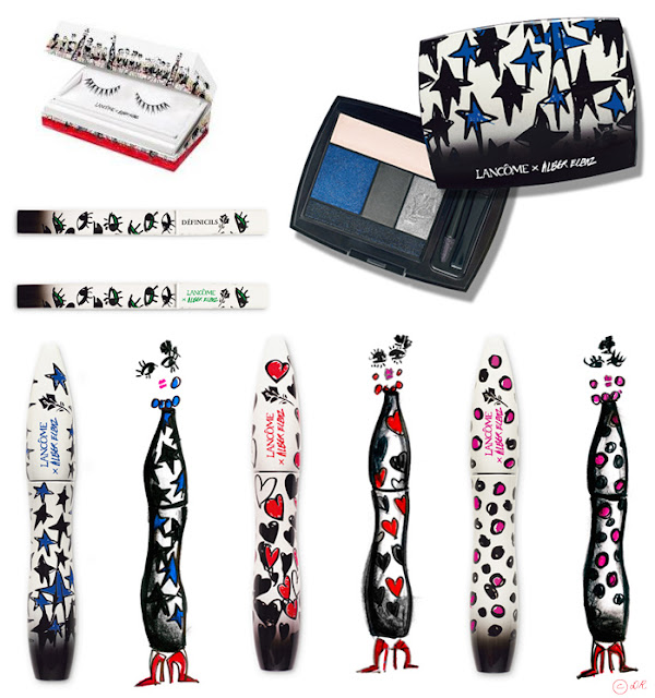 Lancome, alber, elbaz, lanvin, make up, fashion, style, beauty
