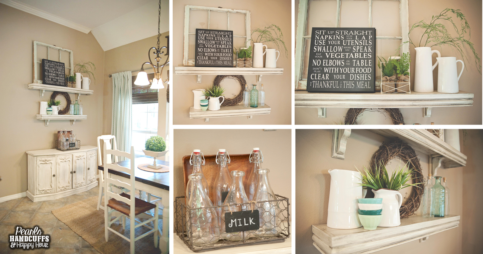 Pearls, Handcuffs, and Happy Hour: Home Tour Tuesday - The Kitchen