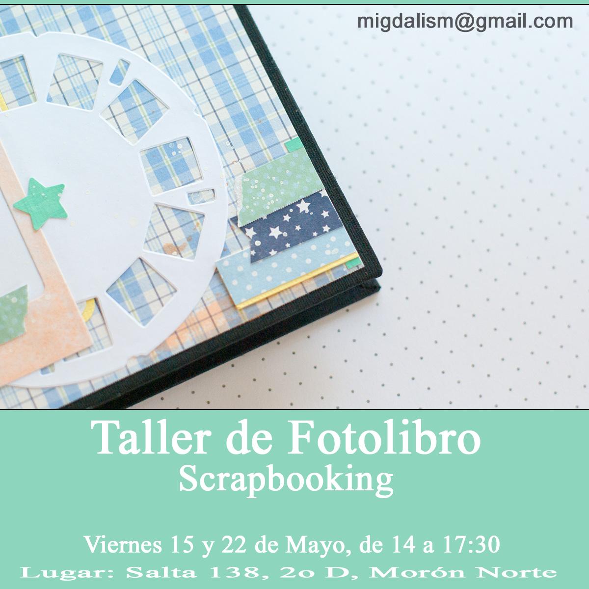 taller fotolibro scrapbooking