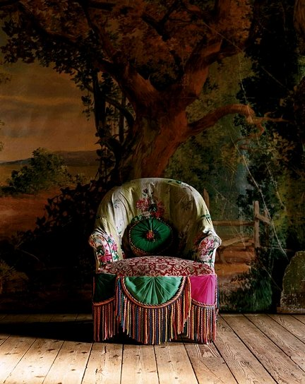 Dishfunctional designs the bohemian chair for Dormitorio hippie chic
