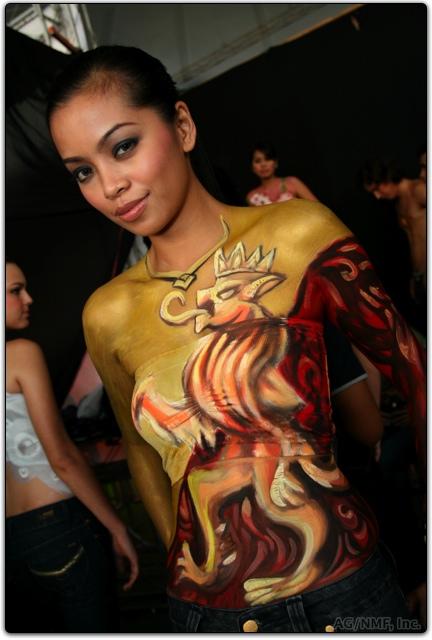body painting female Amazing