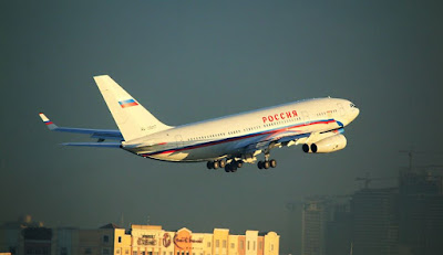 russia government ilyushin il 96