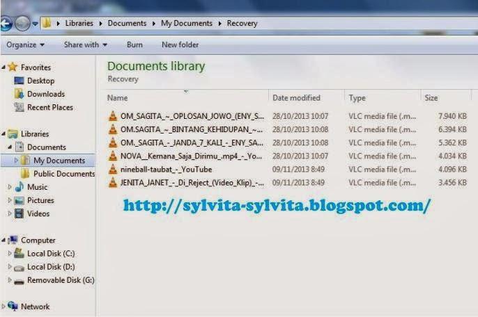 Panduan Cara Mengembalikan File yang Telah Terhapus / Terdelete