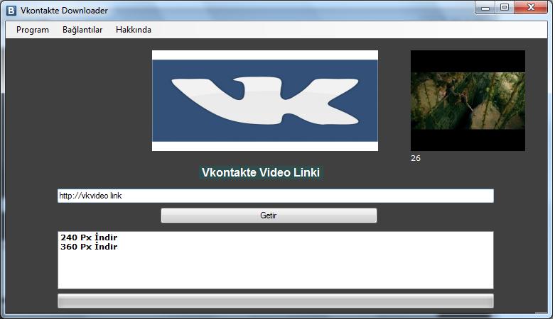 Vkontakte vk downloader 1 0 vkontakte vk sitesinden video