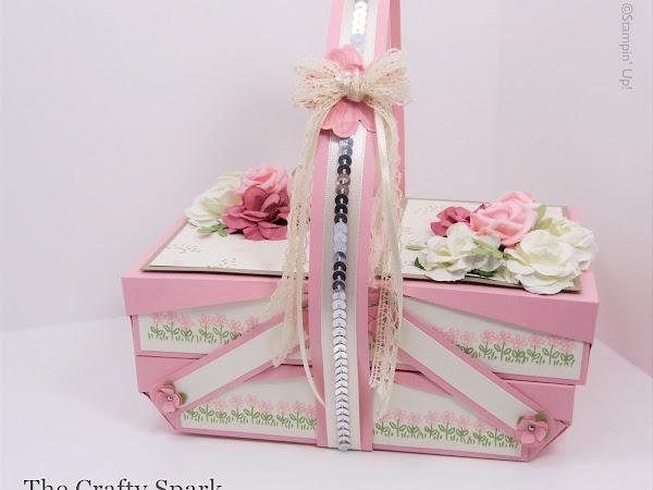 Pretty in Pink Cantilever Picnic Box Tutorial
