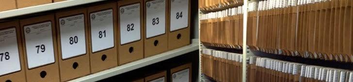 NOSSOS SERVIÇOS. Organização de Arquivos e Documentos