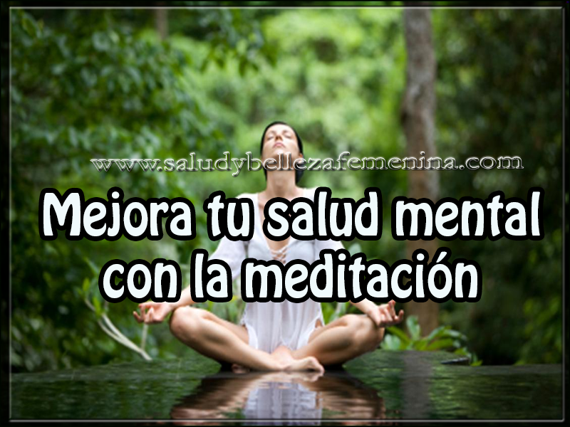 Salud y bienestar , mejora tu salud mental con la meditación