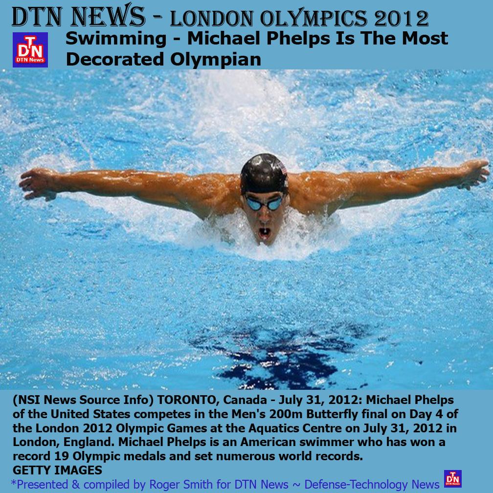 Michael Phelps Swimming Olympics 2012