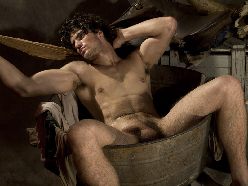men Nude paul freeman