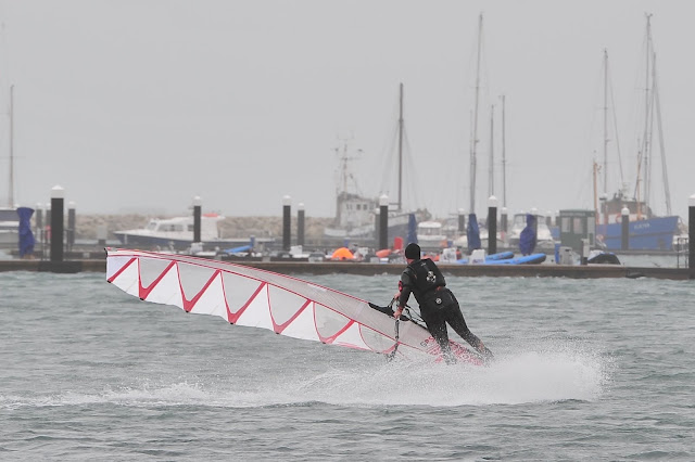Hot Sails GPS 7.3, 35cm Type S Black Project Fin, Exocet RS2, Lea Spencer
