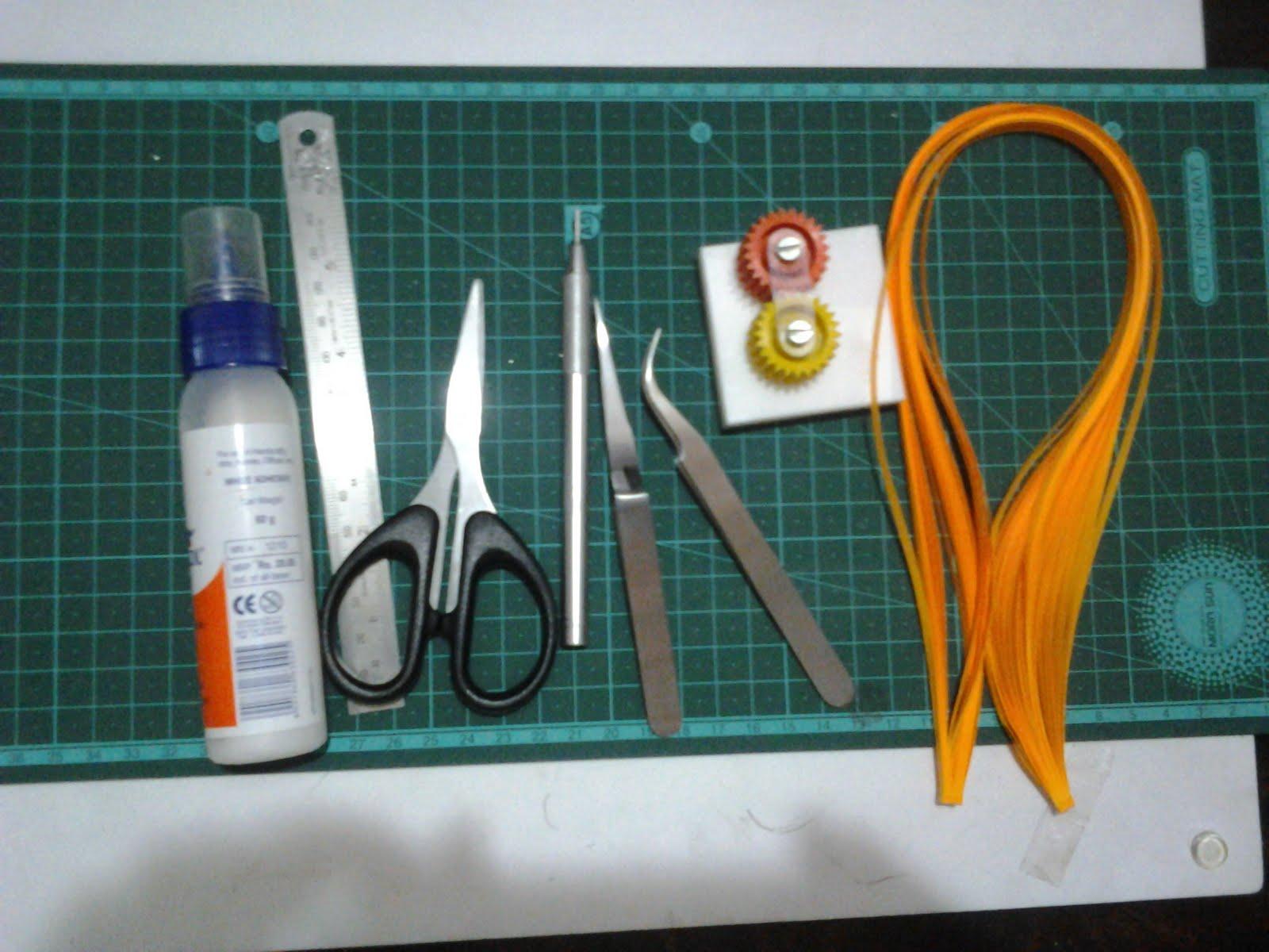 Как сделать полоски для квиллинга
