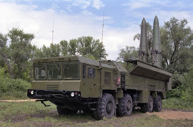 9K720 Iskander-M SRBM