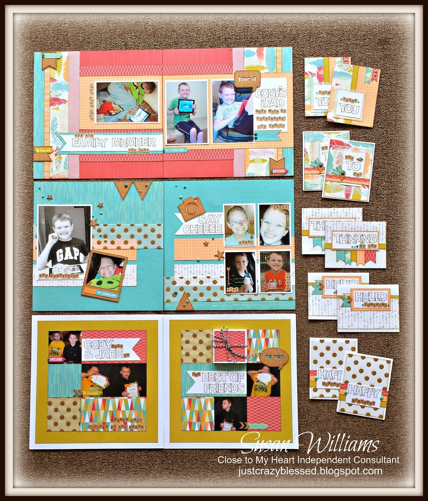 'Free to Be Me' Workshop! 3 Layouts & 10 Cards!