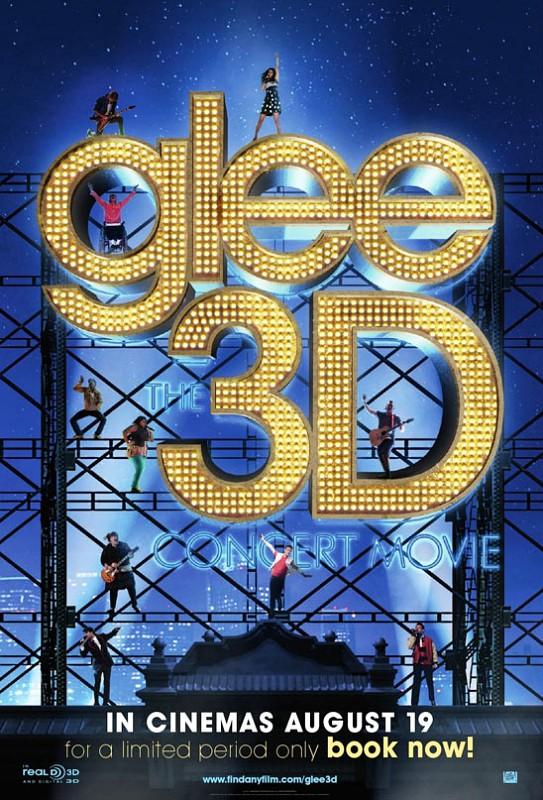 Lançamentos e continuações em 23 de setembro de 2011 Poster-of-glee-the-3d-concert-movie-arrives