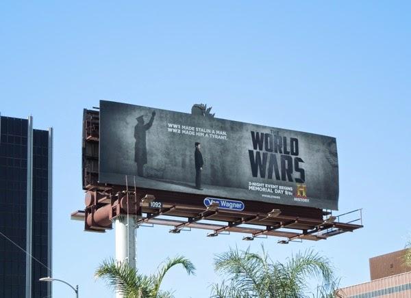 Stalin The World Wars mini-series billboard