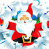 Decora tu blog  con un Papa Noel que sube y baja desde una soga