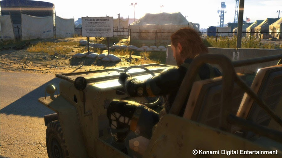 Metal Gear Solid 5 Ground Zeroes screenshot