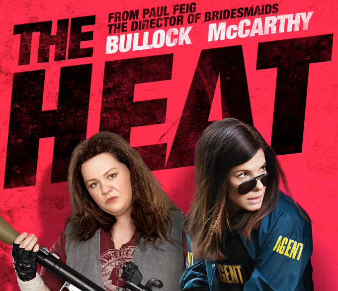 the heat movie, melissa meccarthy, sandra bullock