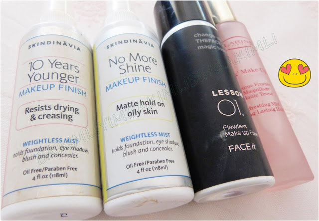 face shop lesson 01 makeup fix spray