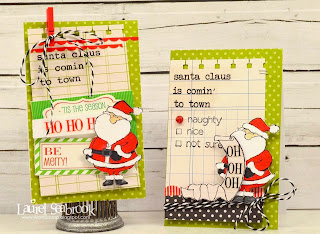 SRM Stickers Blog - Stamps & Stickers Cards by Laurel - #cards #stickers #stamps #labels #twine #sentiments