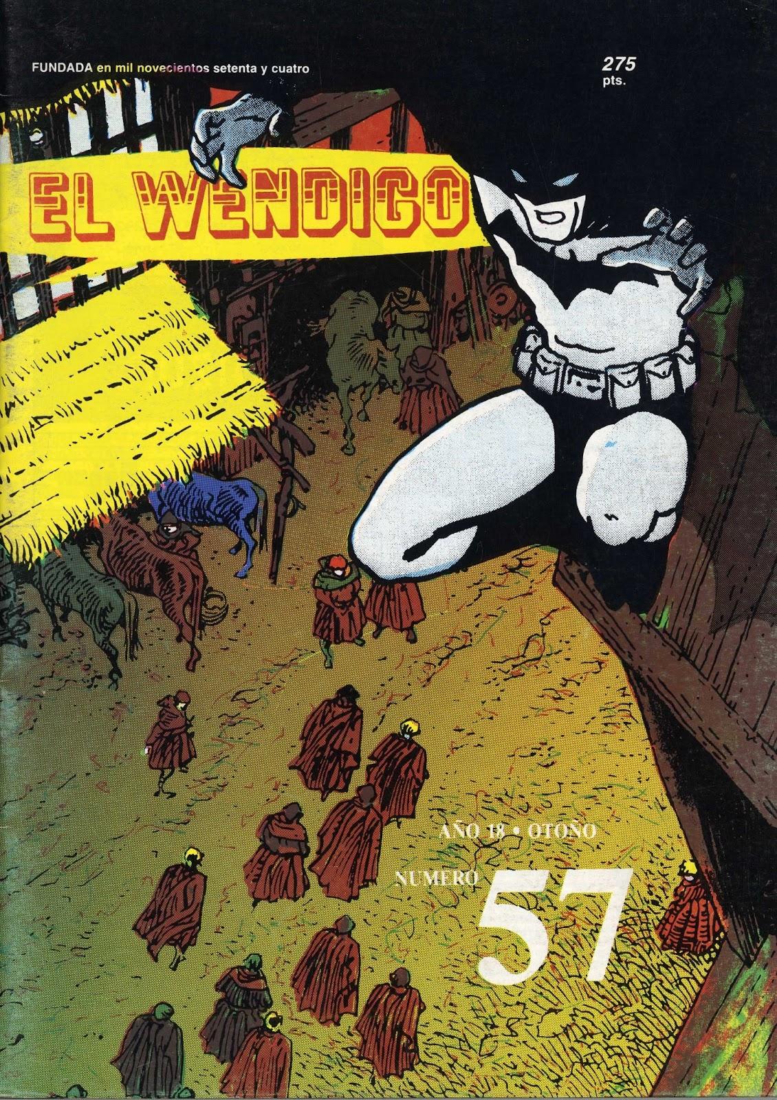 Descargas: El Wendigo Nº57 (1992) | ULTRAMUNDO