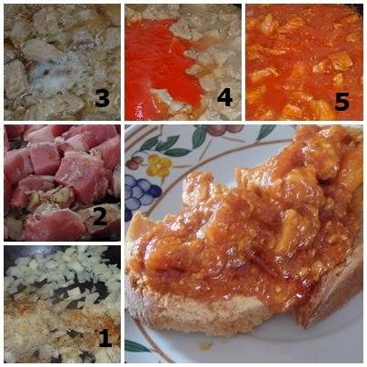 carne en salsa con tomate