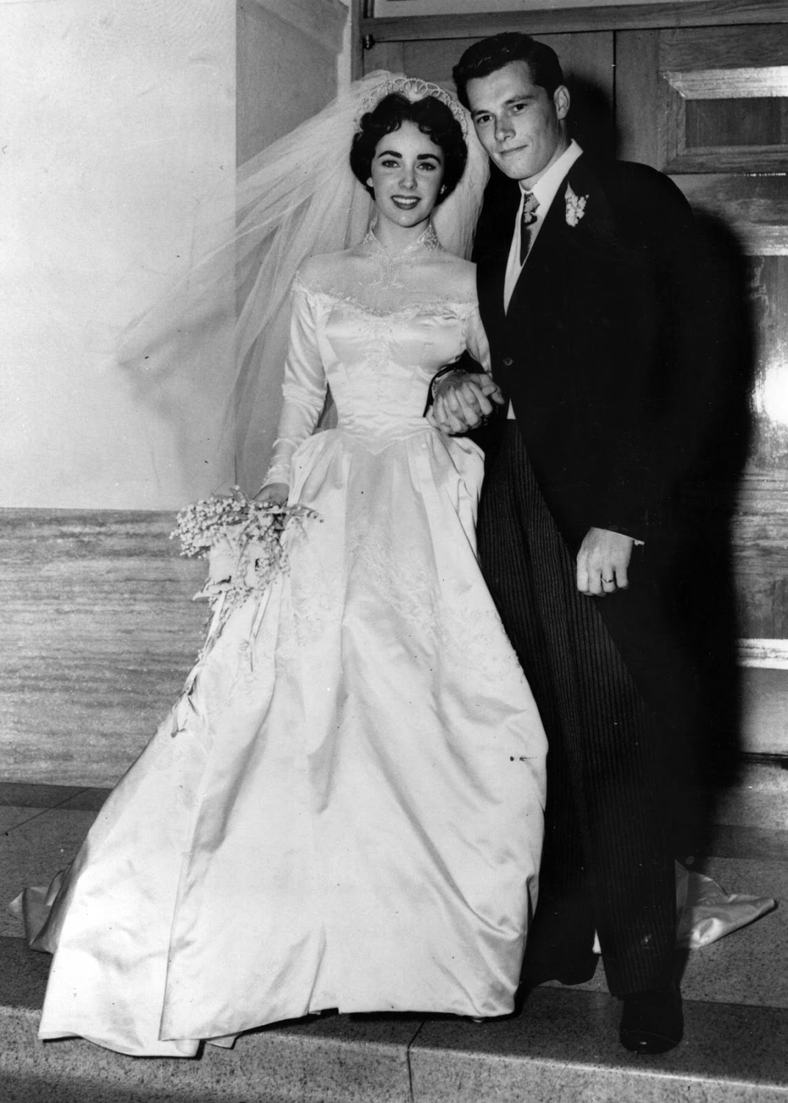 bridal workbook vintage 1950s style wedding inspiration With elizabeth taylor wedding dresses