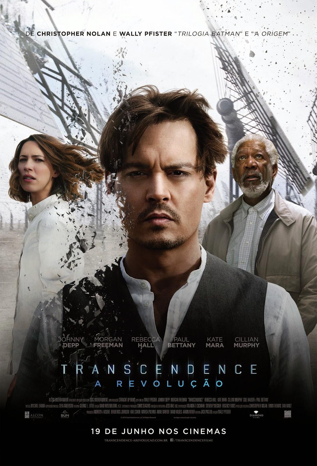 Pôster/capa/cartaz nacional de TRANSCENDENCE - A REVOLUÇÃO (Transcendence)